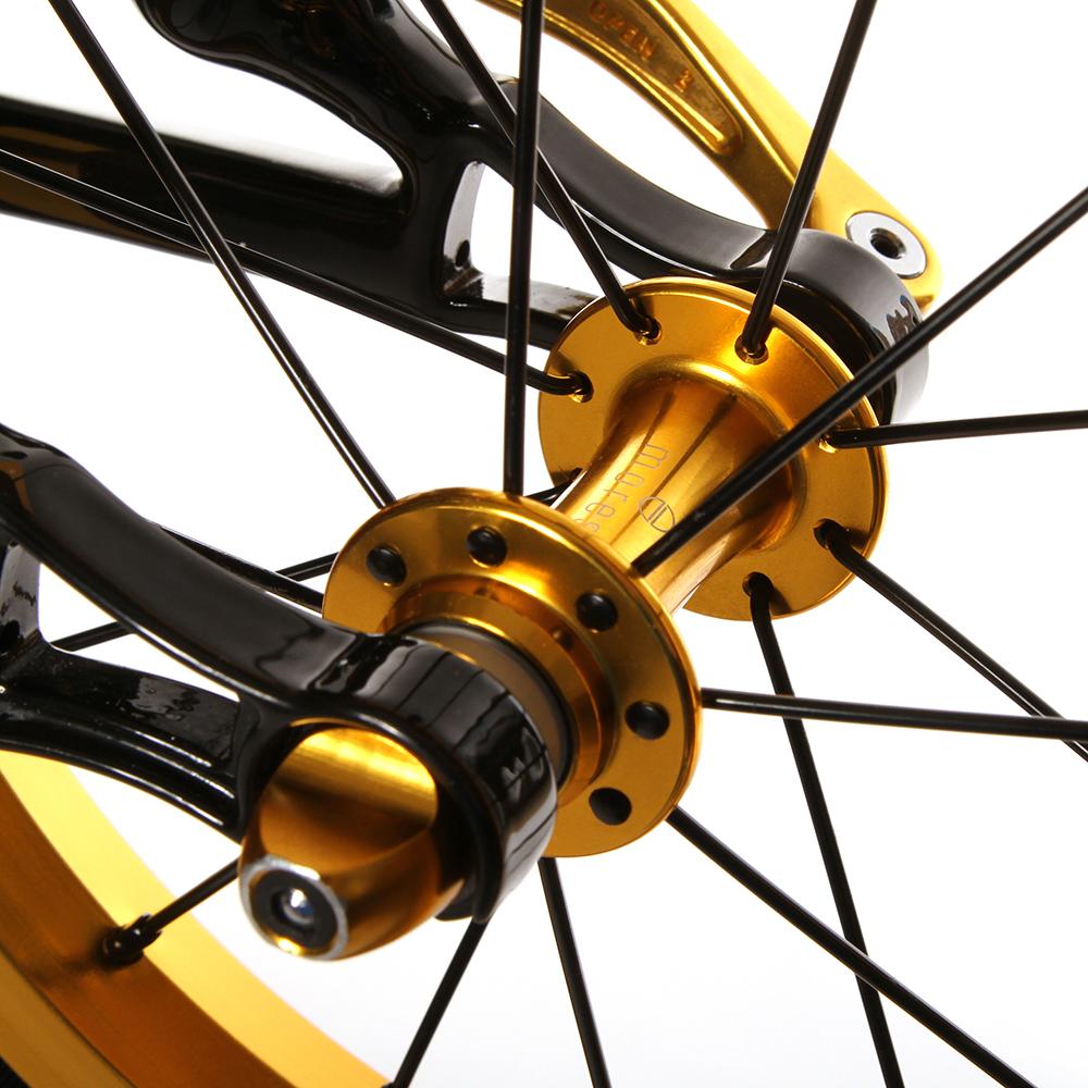 Type de roues avec Axe creux- serrage rapide  pour draisienne